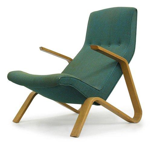Eero Saarinen, Womb chair, 1946 · SFMOMA on