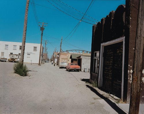 Alley, Wells, Nevada, August 8, 1973