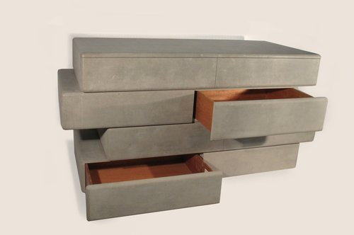 Slab Drawers (stack one, four drawers)