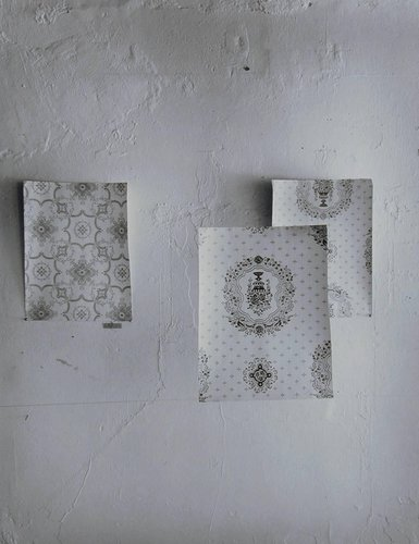 Untitled (Wall Paper Samples), from the Wall Site series