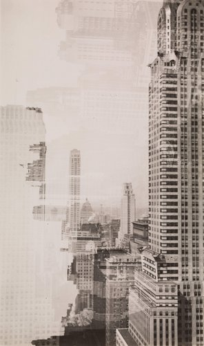 New York Double Exposure