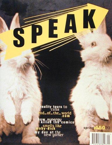 Speak 18, Spring 2000