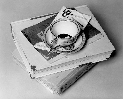 Still life with Cobalt Tea Cup Jar