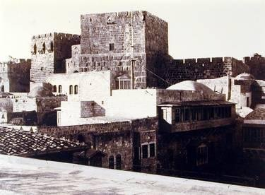 Tour de David avec ses grandes assises salomoniennes (Tower of David with its great courses from the Solomonic era)