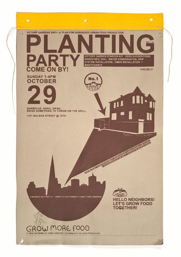 VG2007+ Planting Party Poster, October 29