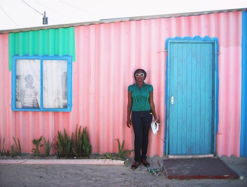 Untitled [Pink house], from the series Daily Lives