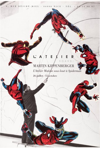 L'Atelier Matisse sous-loué à Spiderman (The Matisse Atelier Sublet to Spiderman)