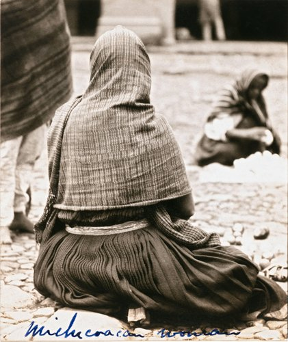 "Untitled [""The way indian women dress in the state of Michoacan""]"