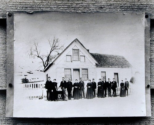 Photograph of Morris Family Homestead in Ohio, Home Place