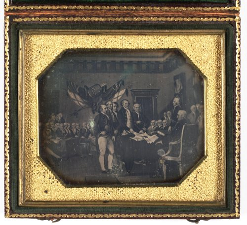 Untitled [Painting of the Declaration of Independence]