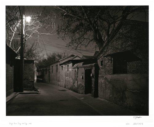 Yang Jiao Deng Hutong, from the series Hutong at Night