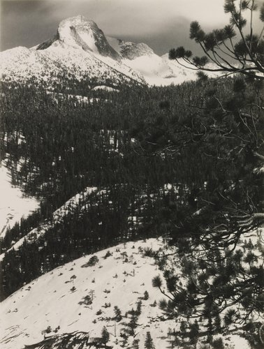 Mount Galen Clark, from the portfolio Parmelian Prints of the High Sierras