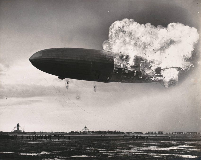 image of 'Crash of the Hindenburg'