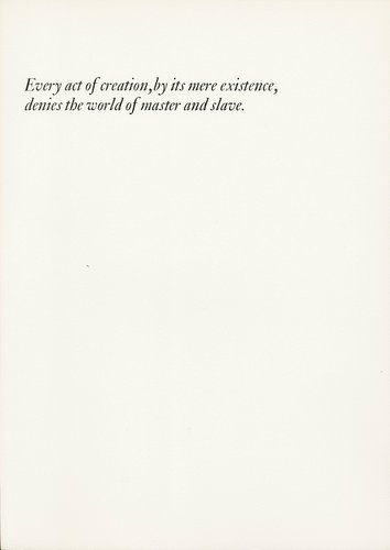 The Rebel Albert Camus: Twenty-Five Typographic Meditations [page 37]