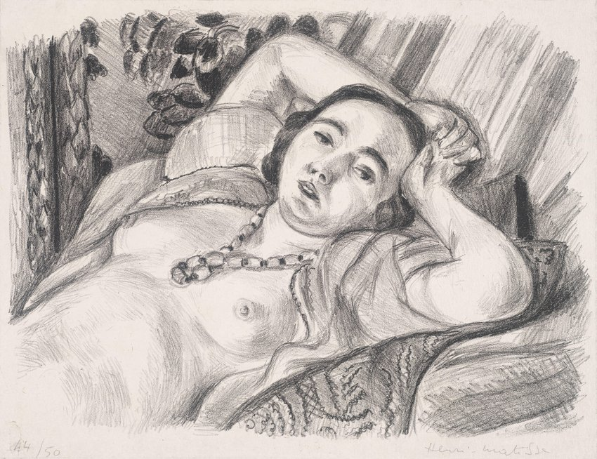 image of 'Odalisque au collier (Nude with Necklace)'