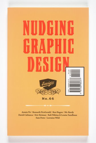 Emigre magazine, no. 66 (Nudging Graphic Design)