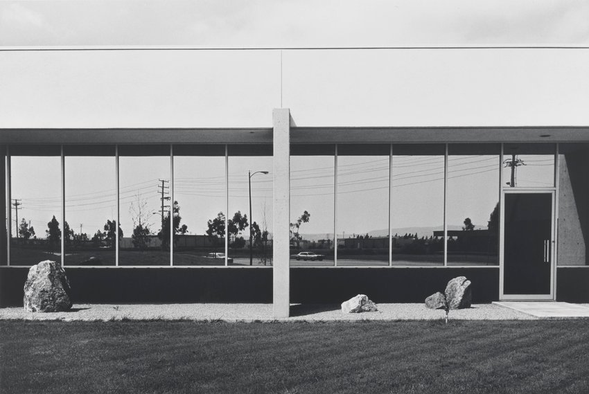 image of 'South Wall, Mazda Motors, 2121 East Main Street, Irvine, from the portfolio The New Industrial Parks near Irvine, California'