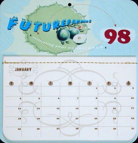 Futurefarmers 1998 Calendar