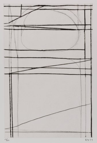 #4 from Nine Drypoints and Etchings