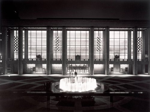 Philip Johnson, New York State Theater, Lincoln Center, New York, 1964