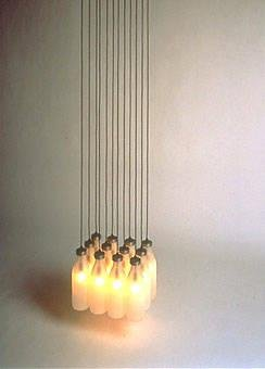 Milkbottle Lamp