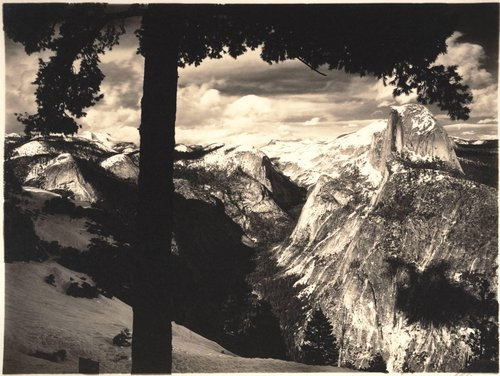 From Glacier Point, Yosemite Valley, from the portfolio Parmelian Prints of the High Sierras
