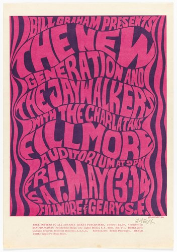 New Generation and the Jay Walkers with The Charlatans; Fillmore Auditorium, May 13-14, 1966