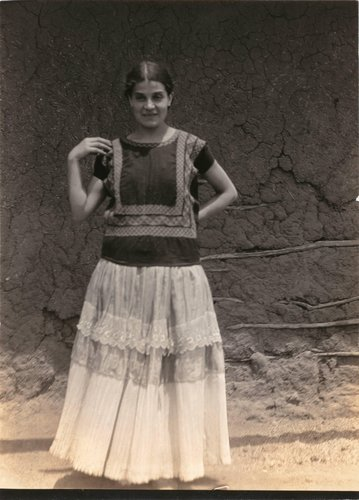 "Untitled [""Costume from Tehuantepec""]"