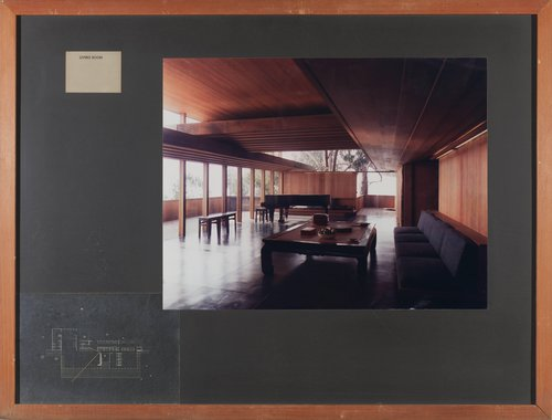 House for Fred and Eve Ludekens, Belvedere, California [66]
