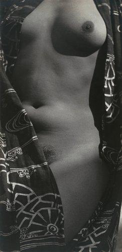Tina Modotti, Half-Nude in Kimono