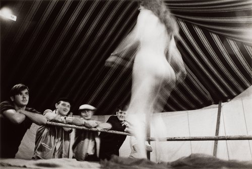 First Dance, Presque Isle, Maine, from the series Carnival Strippers