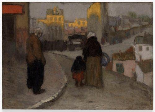 Scène de rue (Street Scene)