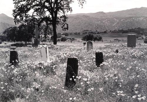 Monticello Cemetery, from the series Death of a Valley