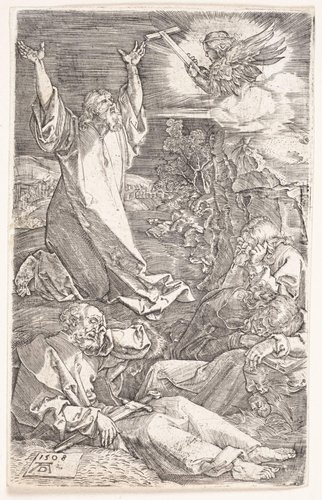 Agony in the Garden [Reversed copy after Dürer's Engraved Passion]