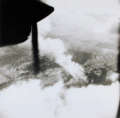 Untitled [Reconnaissance photo of D-Day]