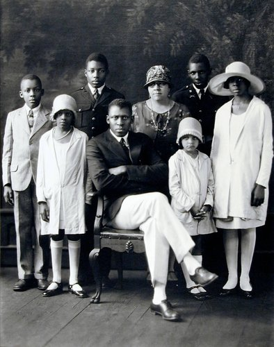 Mr. and Mrs. T. M. Campbell and Children
