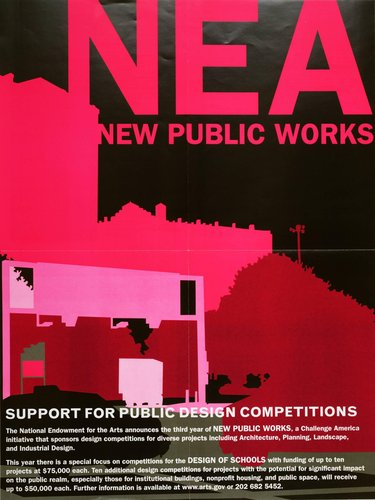 NEA New Public Works 2002 poster