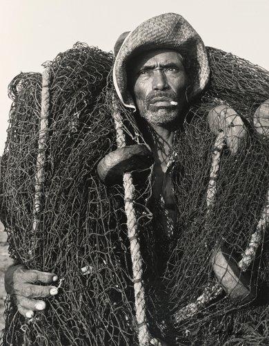 Pescador envuelto en redes, Veracruz (Fisherman Wrapped in Nets, Veracruz )