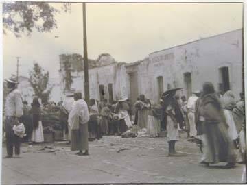 """image of 'Unitled [""""Market scene - Xochimilco""""]'"""