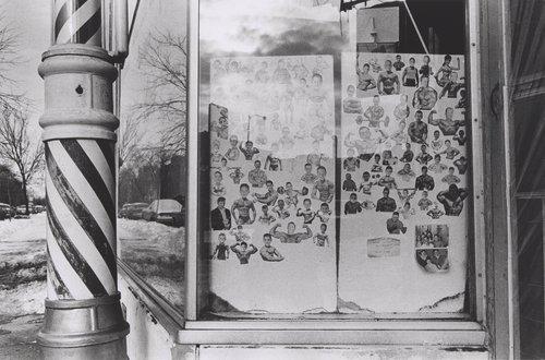 Irv's Barber Shop, Chicago, from the portfolio Meta Photographs