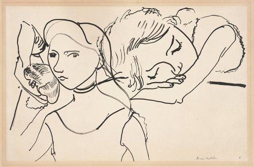 Marguerite in Three Poses