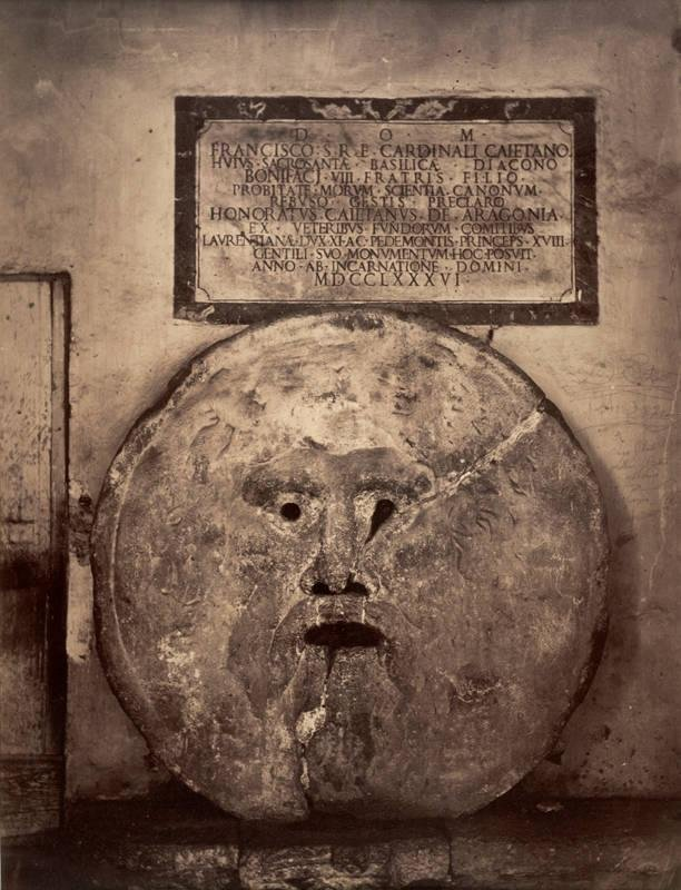 image of 'Sculpture Study: La Bocca della Verità, Rome (The Mouth of Truth, Rome)'