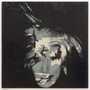 image of Self-Portrait [Camouflage]