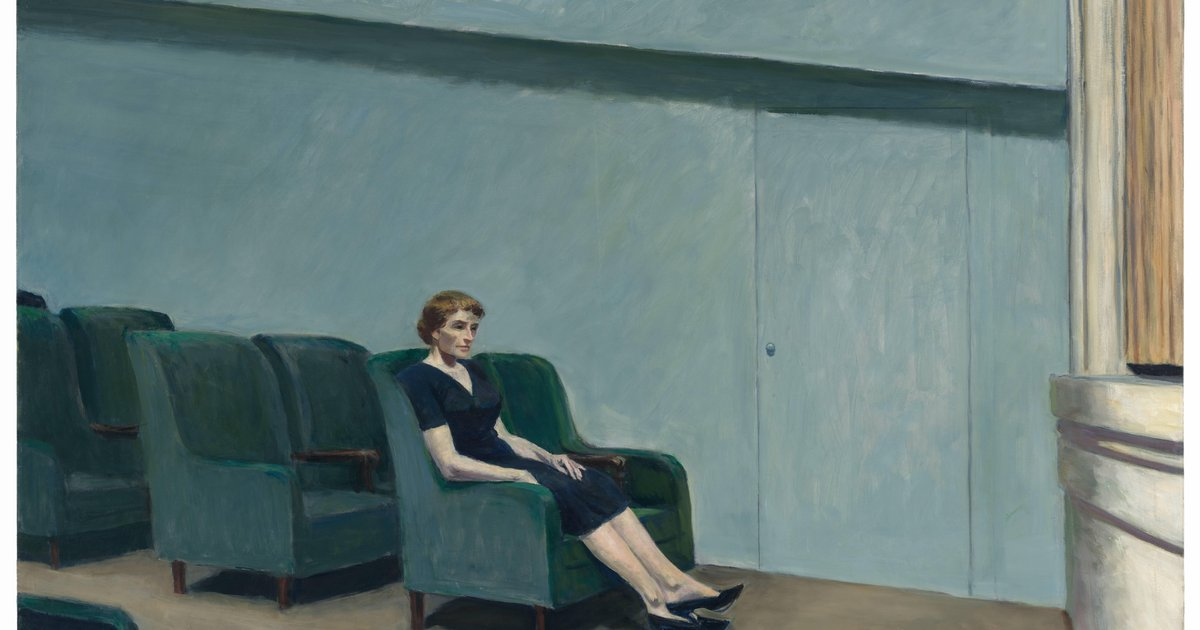Edward Hopper Intermission 1963 183 Sfmoma