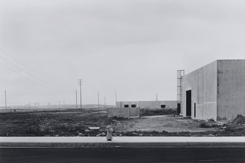 Alton Road at Murphy Road, looking toward Newport Center, from the portfolio The New Industrial Parks near Irvine, California