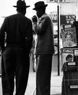Untitled (Two Men at Magazine Rack)