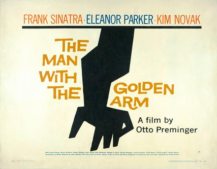 Image for artwork The Man With the Golden Arm poster