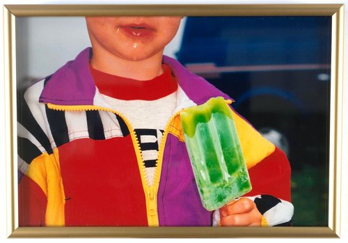 Untitled [boy with popsicle], from the series British Food