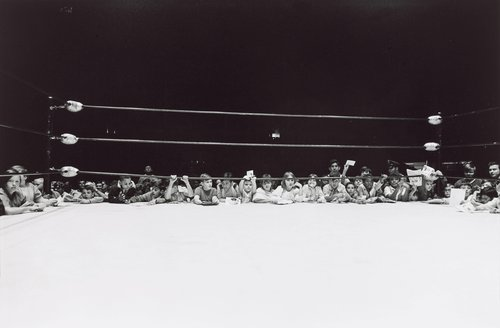 Kids at Ringside, Houston Wrestling, from the series Friday Night in the Coliseum