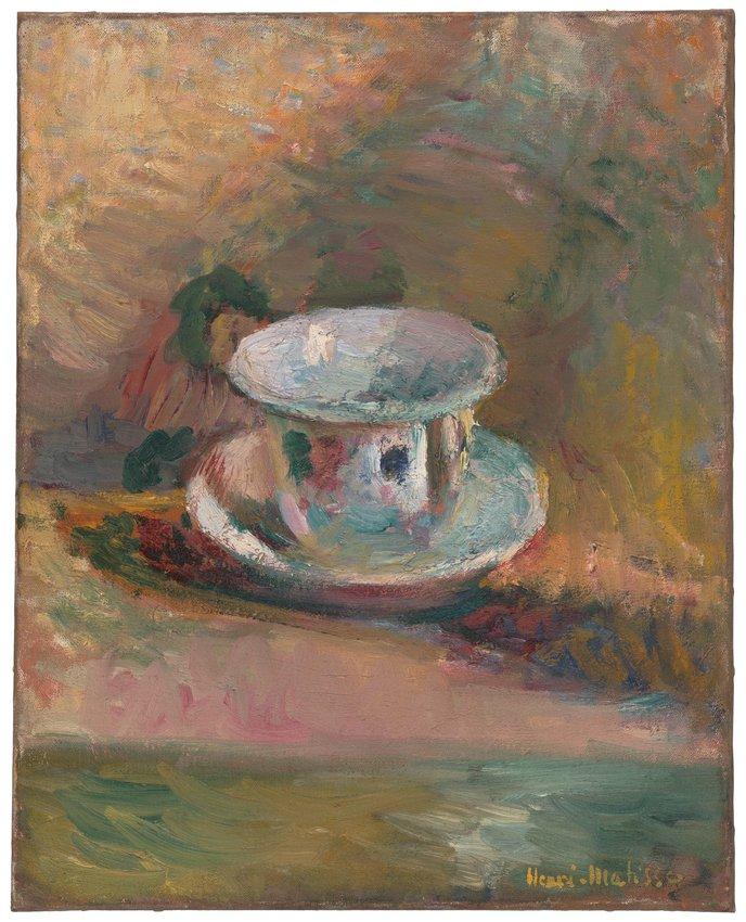 image of 'La Table au café (Café Table)'